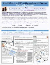 It Program Manager Resume It Project Manager Resume U0026 Job Search Success