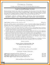 Personal Injury Paralegal Resume Sample Sample Paralegal Resume Resume Samples And Resume Help