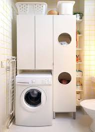 bathroom cabinet with built in laundry her container store bathroom storage the container store platinum bath