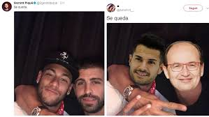 Memes Se - the best tweets and memes from gerard pique s he stays post