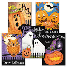 happy haunting halloween card value pack current catalog