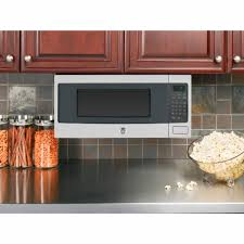 table top microwave oven ge profile pem31sfss series1 1 cu ft countertop microwave oven