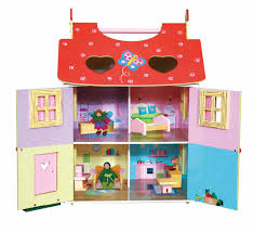 magic garden dollhouse with furniture and dolls