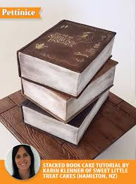 pettinice book cake tutorial with karin klenner