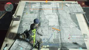 Tom Clancy S The Division Map Size Datamining Dz Central Park Shd Tactical Terminals New Vanity