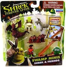 shrek swamp minis shrek friends mini figure