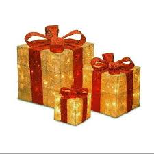 lighted christmas present boxes cheap lighted gift box decorations find lighted gift box