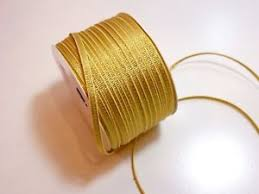 metallic gold ribbon metallic gold grosgrain ribbon 1 8 inch wide x 10 yards metallic