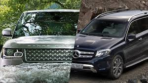 luxury mercedes suv range rover versus mercedes which makes a more appealing suv