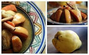 cuisiner le coing cuisiner le coing best of recette du tajine au coing amal délices