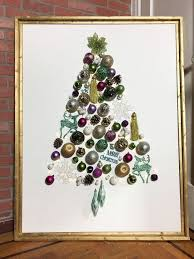 light up ornament tree on canvas hometalk
