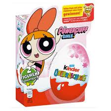 kinder suprise egg kinder powerpuff chocolate more delights