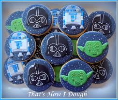 star wars cookies for a baby shower that u0027s how i dough