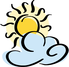 partly cloudy partly sunny clipart wikiclipart