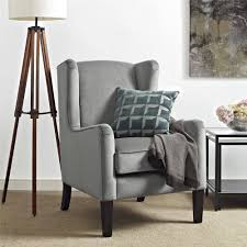 Wing Chairs For Living Room by Dorel Living Rossland Wingback Accent Chair Walmart Com