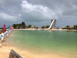 san pedro island belize worlds largest water slide one day