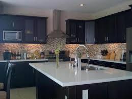 Dark Espresso Kitchen Cabinets Maple Espresso Kitchen Cabinets And Wall Color U2014 Home Design And
