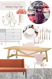 ikea pink plates making it yours 13b möckelby dining table making it lovely