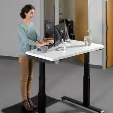 Standing Sitting Desk Loctek Had3c Height Adjustable Standing Desk Loctek Ergonomic