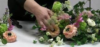 easter arrangements centerpieces how to make an easter centerpiece using a wreath base flower