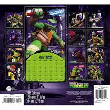 teenage mutant ninja turtles 2015 wall calendar 9781423824404