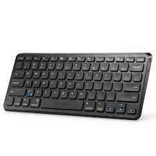 bluetooth keyboard android anker ultra compact slim profile wireless bluetooth keyboard