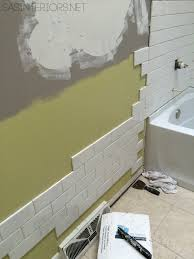bathroom makeover diy tips u0026 tricks on how to tile grout a
