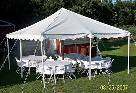 20x20 white party tent b n t tents inc