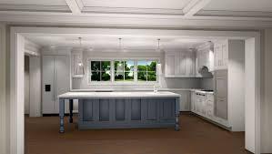 traditional white kitchen design 3d rendering nick creative design tools forward design build remodel