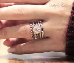 stacked birthstone rings best 25 stackable birthstone rings ideas on stackable