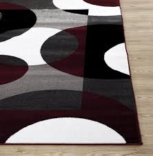 Cheap Modern Area Rugs Rugshop Modern Circles Area Rug 5 3 X 7 3
