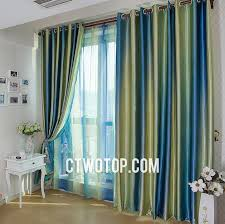 Green And Blue Curtains Remarkable Curtains Blue Green Inspiration With Primitive