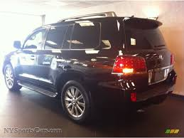 lexus lx 570 black interior 2011 lexus lx 570 in black onyx photo 4 064112 nysportscars