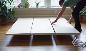 Diy Bed Platform Floyd Diy Platform Bed Frame Indulgd