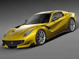 Ferrari F12 Yellow - ferrari f12 tdf 3d squir car pinterest ferrari and cars