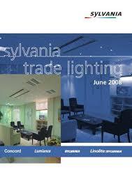 sylvania t5 led ls sylvania trade lighting catalogue by paul atkins issuu