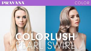 pravana silver hair color how to pravana silver blonde hair with colorlush youtube