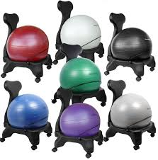Desk Chair Workout Furniture Interesting Gaiam Balance Ball Chair For Home Workout