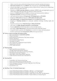 Plumbing Resume Examples by Resume Senior Hvac U0026 Plumbing U0026 Qc Engineer