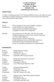 Resume Objective For Quality Assurance Analyst Lpn Resume Samples Free Resumes Tips