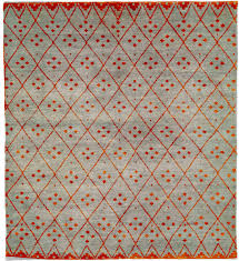 Modern Tibetan Rugs by Clotho B Hand Knotted Tibetan Rug From The Modern Tibetan Rugs