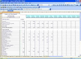 personal monthly cash flow statement template excel monthly