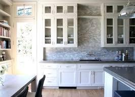 backsplash for kitchen with white cabinet simple ideas for white kitchen cabinets image white glass backsplash