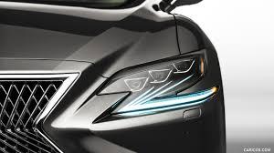 2018 lexus ls 500 headlight hd wallpaper 11