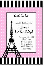 eiffel tower invitations poodle in birthday invitations candy wrappers thank you