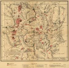 Map Of Montana And Wyoming by Yellowstone National Park 1881 Historical Map Yellowstone Up