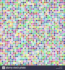 multicolor circle pixel mosaic background stock vector art