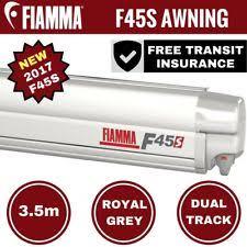 Fiamma F65 Awning Camec 040681 Fiamma F65 Awning 4 0m Deluxe Grey Caravan Motorhome