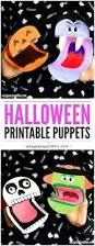 printable halloween puppets easy peasy and fun