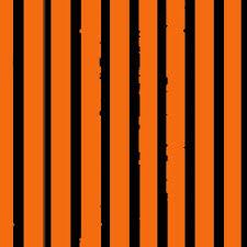 orange and black tiger stripes fabric bohobear spoonflower